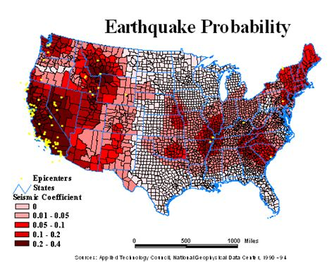 earthquake earthquakes map zones probability maps states zone fault madrid crisisboom usgs earth across disaster meniscus frequency warning washington