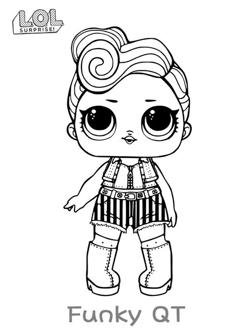 ¡puedes decorar animales adorables, personajes de animación y mucho más! LOL Surprise doll para colorear. ¡Imprime gratis! Toda la serie