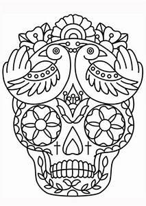 Disenos De Calaveras Mexicanas Dia De Los Muertos