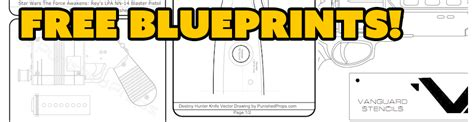 make your own blueprints free free blueprint files for prop