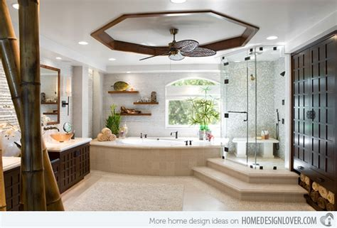 Get Nature's Feel In 15 Asian Themed Bathrooms House