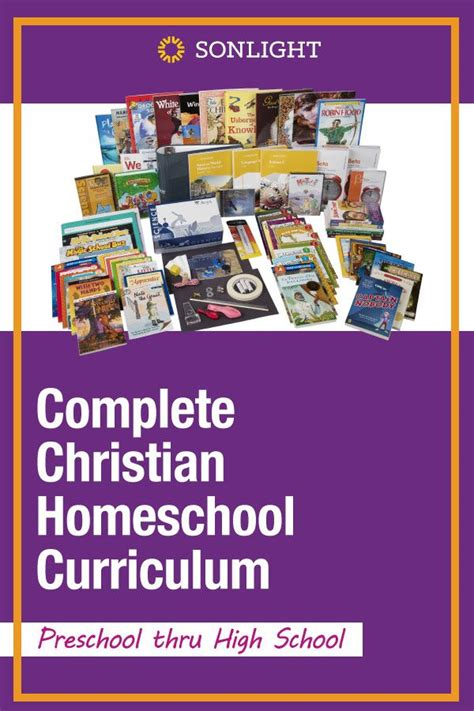 sonlight the original quot real books quot curriculum 968 | pin complete christian homeschool curriculum