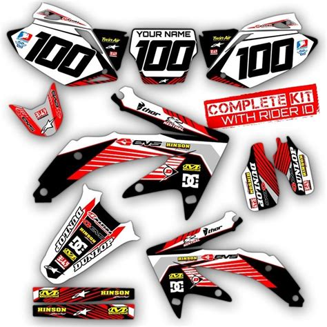 2002 2003 2004 honda crf 450r graphics kit crf450 deco motocross dirt decals ebay