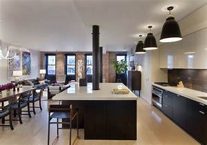 Contemporary, Tribeca, Apartment, In, New, York, City