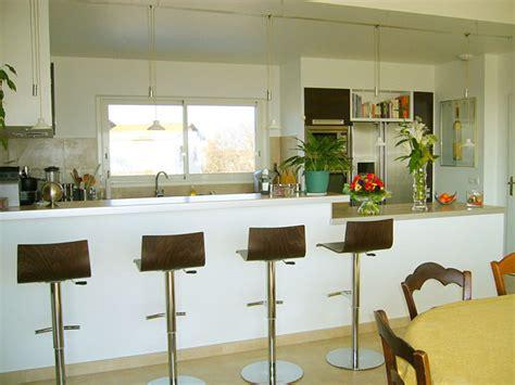 exemple cuisine ouverte s駛our image gallery la cuisine americaine