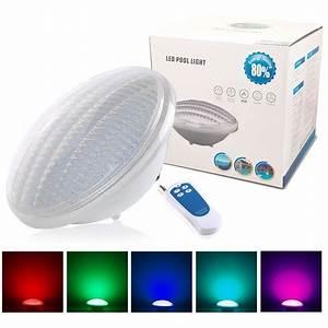 Ampoule Led Couleur : ampoule led piscine par56 couleur rgb 35w avec 441 leds ~ Melissatoandfro.com Idées de Décoration
