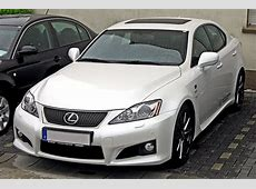 Lexus IS F – Wikipedia, wolna encyklopedia