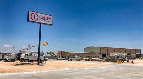 custom truck  source announces expansion  odessa tx