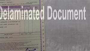 how to remove laminated documents youtube With where to get documents laminated