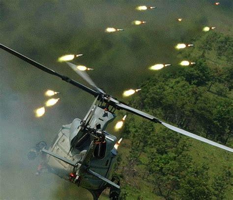 Photos Of The Uh-1y Venom Huey Firing Rockets, Mini-gun