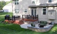 great deck and patio design ideas A good deck and patio combination | Outside Living | Pinterest | Decks, Backyards and Galleries