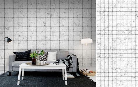 cuisine carrelage noir et blanc papiers peints de marques inspiration décoration