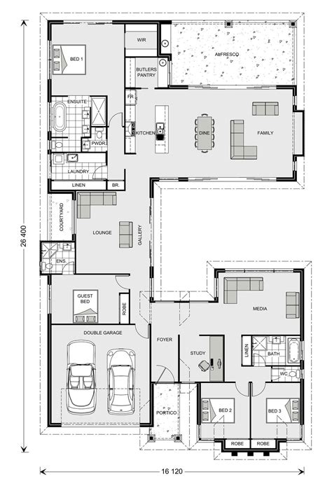 house floor plan builder mandalay 338 our designs new south wales builder gj