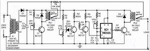 High    Low Voltage Cutoff With Timer Circuit Project