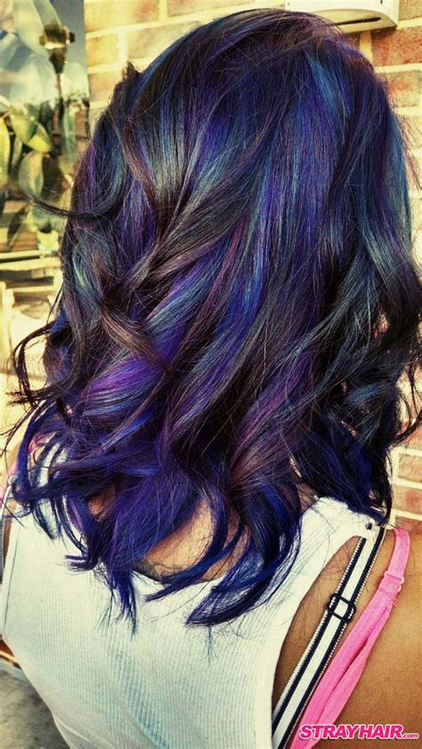 Best 25 Oil Slick Hair Color Ideas On Pinterest Oil