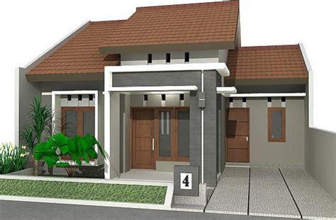 model rumah sederhana  kampung desain rumah minimalis