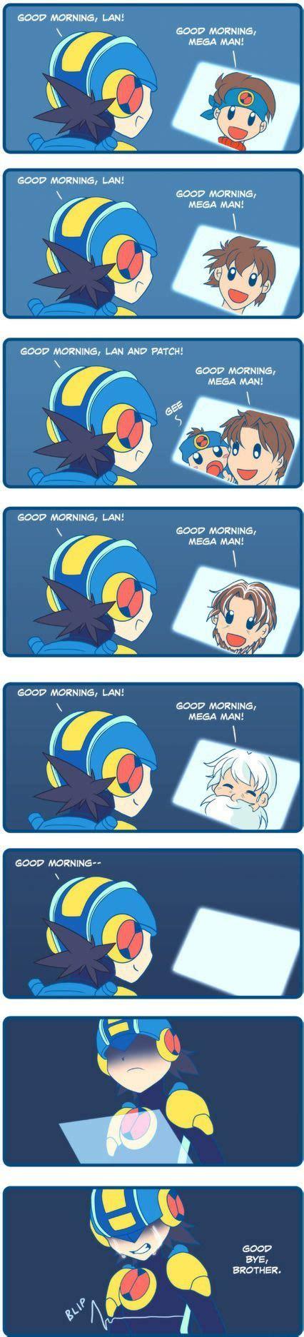Megaman Memes - megaman battle network good morning http www x lols com memes megaman battle network good