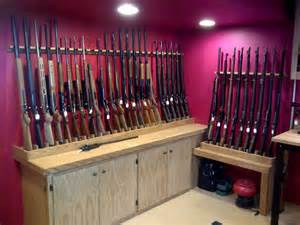 Basement Gun Room Ideas
