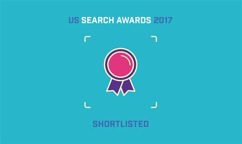 We Are Shortlisted For The Us Search Awards 2017