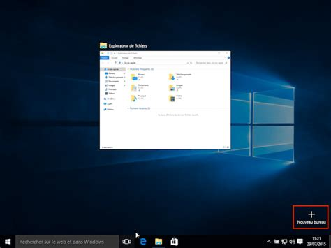windows bureau virtuel comment utiliser les bureaux virtuels de windows 10