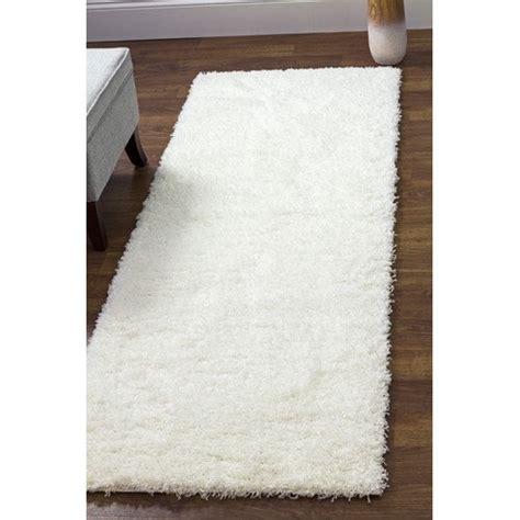 super area rugs cozy plush solid white shag rug