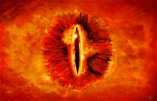 sauron the eye of lord rings walldevil