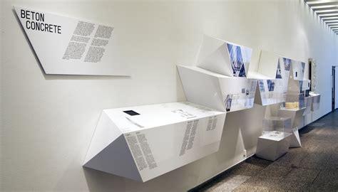 exhibition design  architectural particles