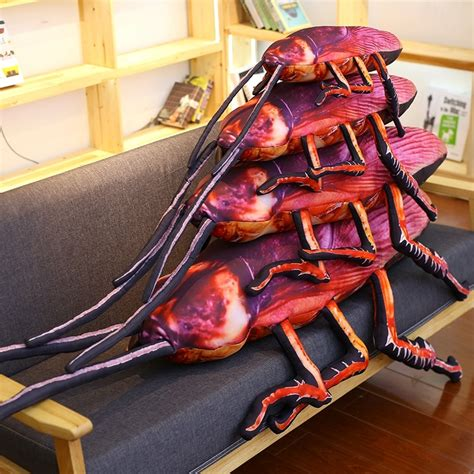 2017 Sep New Creative Simulation 3d Cockroach Plush Toy