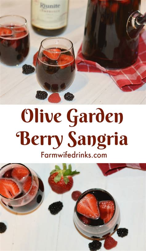 olive garden sangria olive garden berry sangria the farmwife drinks