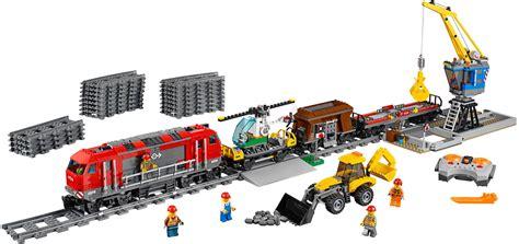 Lego City Heavy Haul Train 60098 Set Photos Preview