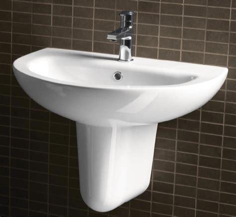 half bathroom ideas with pedestal sink gorgeous white ceramic wall mounted half pedestal