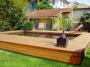 Piscine Bois Semi Enterrée : comment entretenir une piscine en bois ~ Melissatoandfro.com Idées de Décoration