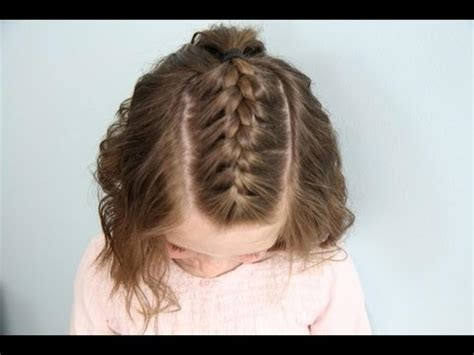 back post simple cute braided hairstyles for short hair