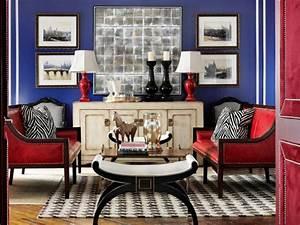 Red, White, And, Blue, Interior, Design