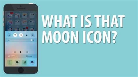 what is the moon symbol on iphone what is that moon icon on my iphone