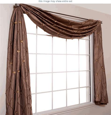 Window Scarf Valance  Bay Window Valances  Home Bedroom
