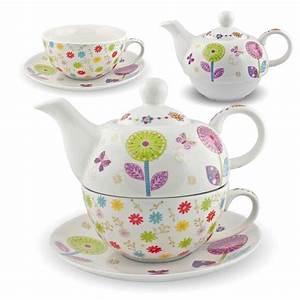 Teekanne Weiß Porzellan : gilde porzellan tee set pusteblume tea for one blumen ~ Michelbontemps.com Haus und Dekorationen