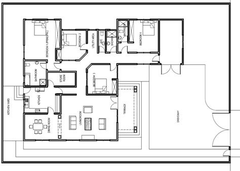plan of house house plans abeeku house plan