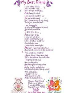 Best Friend Poems