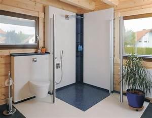 Badgestaltung Ohne Fliesen : wandovario badgestaltung ohne fliesen und silikon ais ~ Michelbontemps.com Haus und Dekorationen