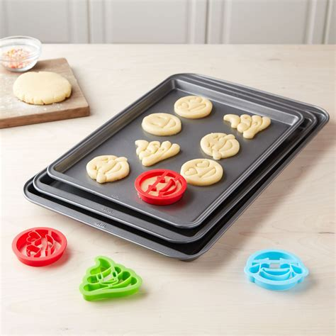 cookie sheet cutters tasty walmart stick non 3pc probably kitchen ice cream purchases silly piece canada emoji