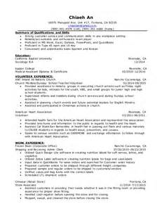 resume that includes volunteer work resume volunteer experience