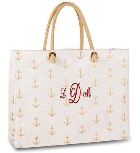 Boat Anchor Bag by Nautical Anchor Tote Bag Personalized