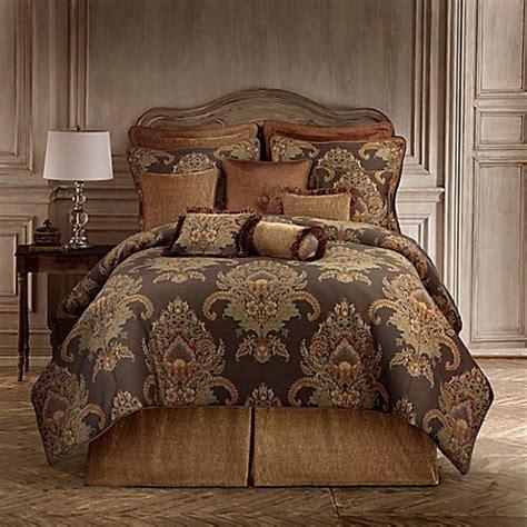 rose tree comforters tree bayonne comforter set in brown bed bath beyond