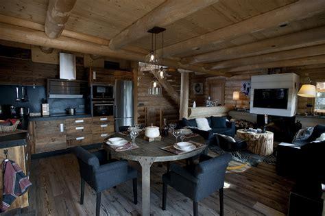 cuisine luxe chalets nordika constructeur bois à bolquère pyrénées