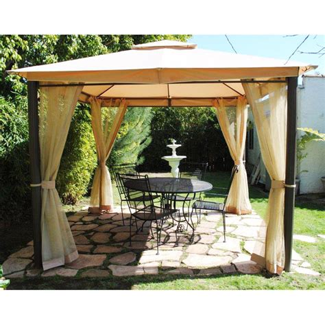 Patio Canopy Home Depot by Home Depot Southern Patio Gaz 434769 Replacement Canopy