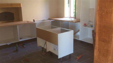 comment construire un ilot central de cuisine et la cuisine c 39 est ikéa renovation d 39 une