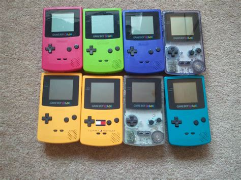 list of gameboy color nintendo s always had the funkiest color palette for its
