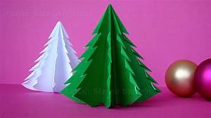 Weihnachtsdeko Zum Selber Basteln : weihnachten basteln tannenbaum basteln mit papier ~ Whattoseeinmadrid.com Haus und Dekorationen