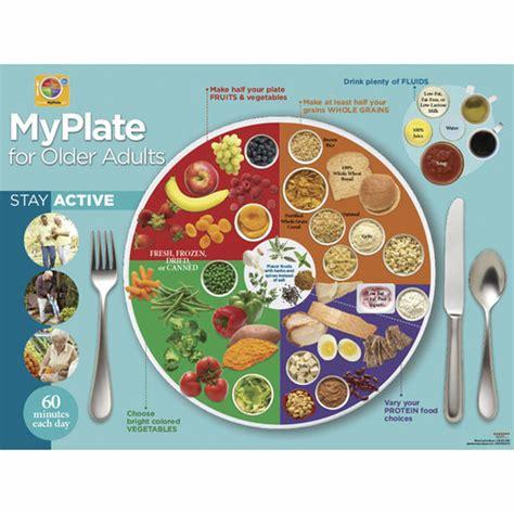 senior myplate poster senior nutrition nutrition